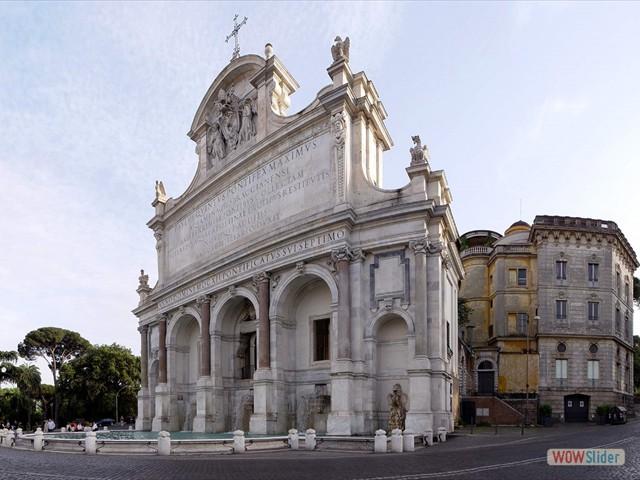 Fontanone del Gianicolo - 1 minute walk